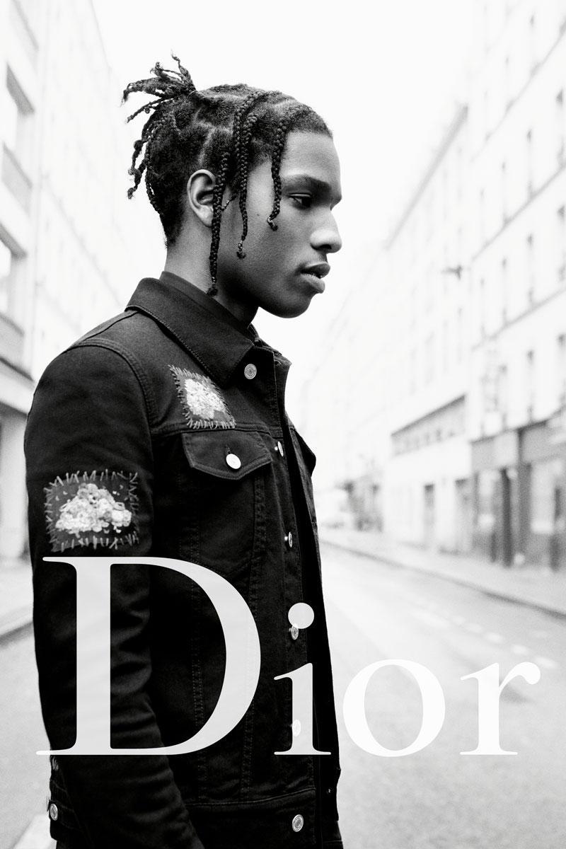 A$AP Rocky, égérie de Dior
