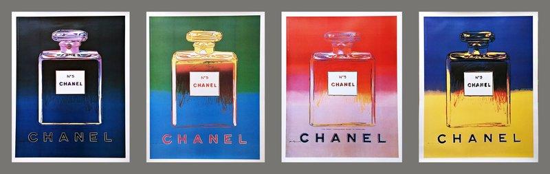 Andy Warhol mettait en couleurs un Chanel N°5 de légende.