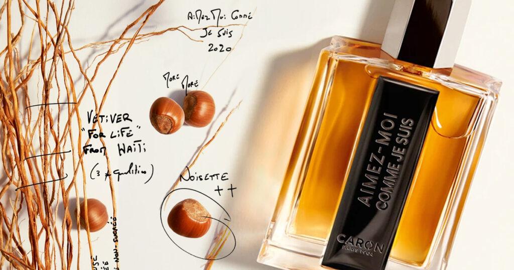 Malgré une certaine connotation has been; Caron montre de la modernité avec le parfum Aimez-moi comme je suis