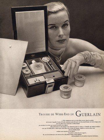 Affiche luxe vintage de Guerlain