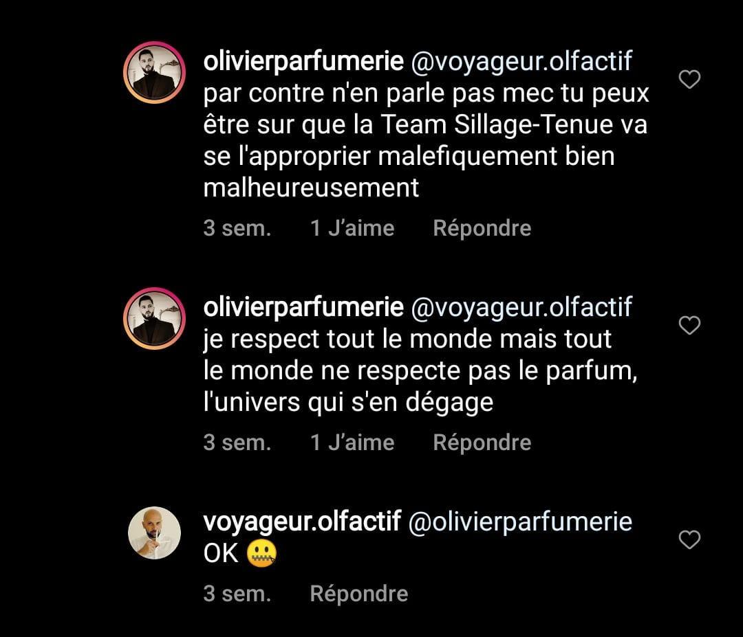Olivier Parfumerie et ses commentaires qui dénigrent les jeunes avec Voyageur Olfactif, épisode 2