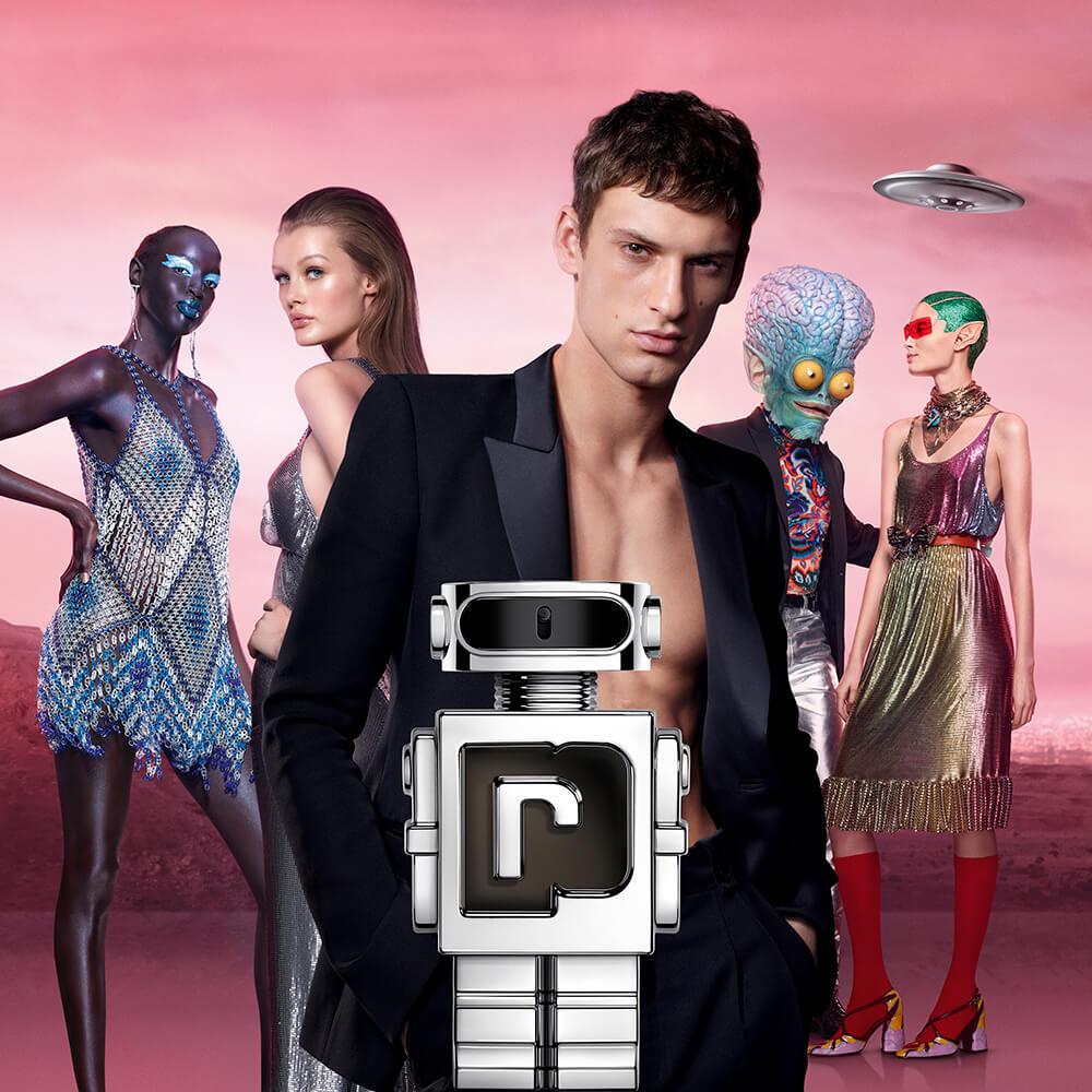 Notre Avis sur Phantom de Paco Rabanne - Affiche du nouveau parfum