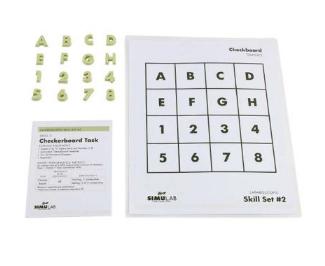 checkerboard task