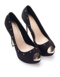 Zapatos negro brillo