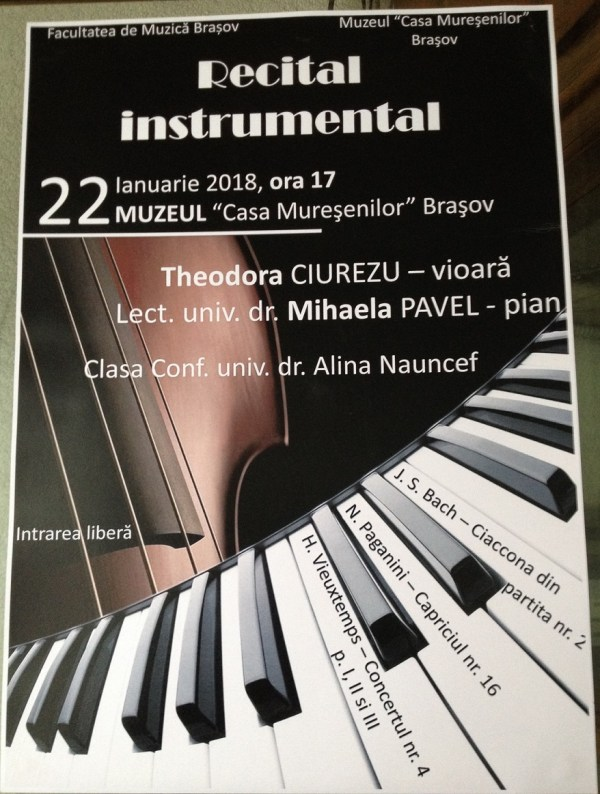 Recital instrumental