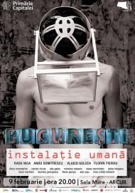 9FEB-Instalatie-Umana-poster