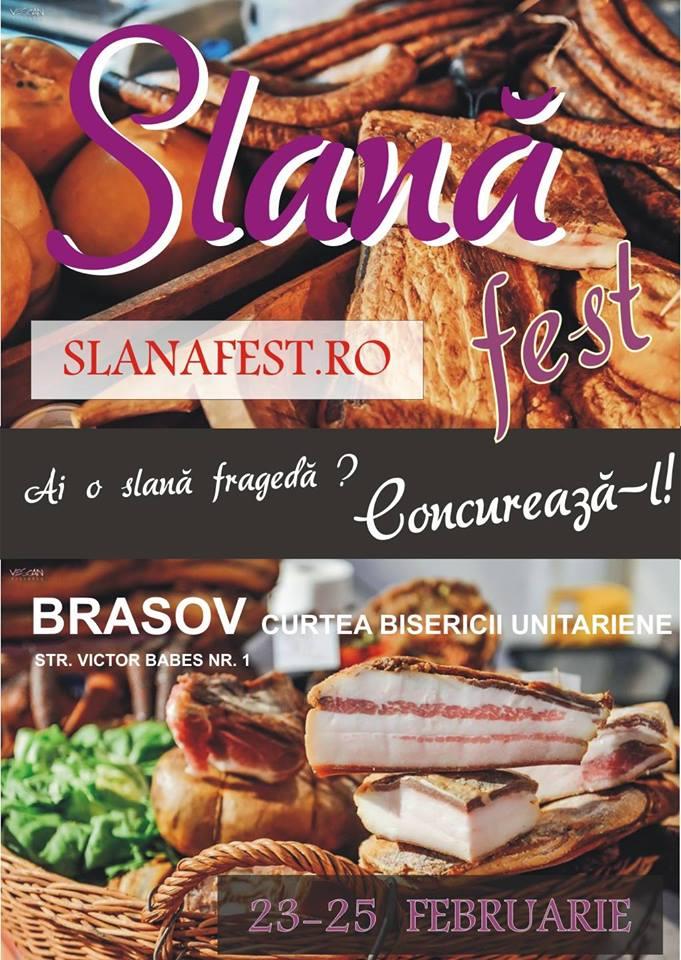 SlanăFest 2018 - Brasov: 23-25 Februarie