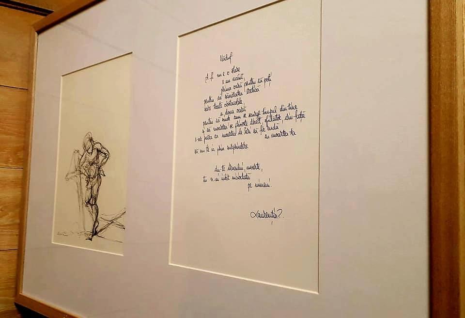 """Artă plastică, poezie, caligrafie și filantropie în expoziția """"Licantropia poftei"""" de Horia Țigănuș și Laurențiu- Ciprian Tudor"""