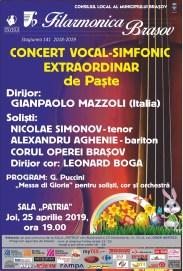 Filarmonica - Concert 25 aprilie 2019