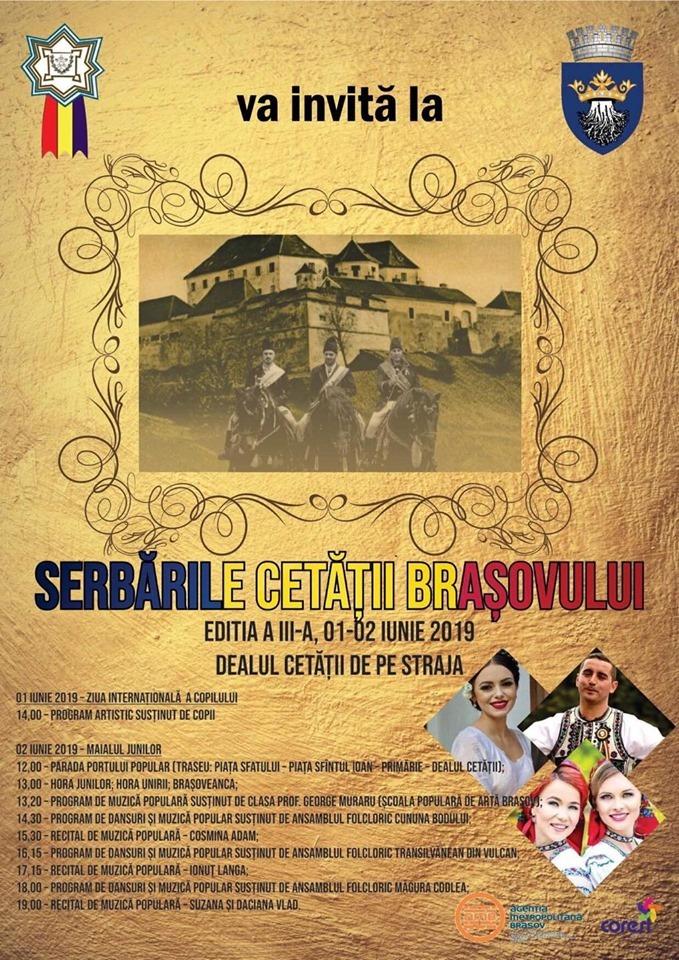 Serbările Cetății Brașovului, ediția a 3-a