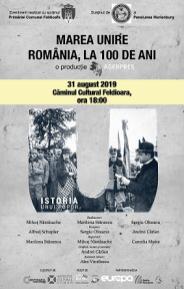 31 aug 2019-Istoria unui popor, Caminul Cultural (1)