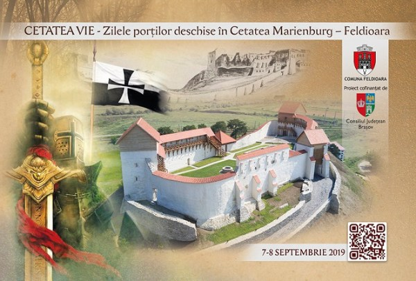 Carte postala Cetatea Vie