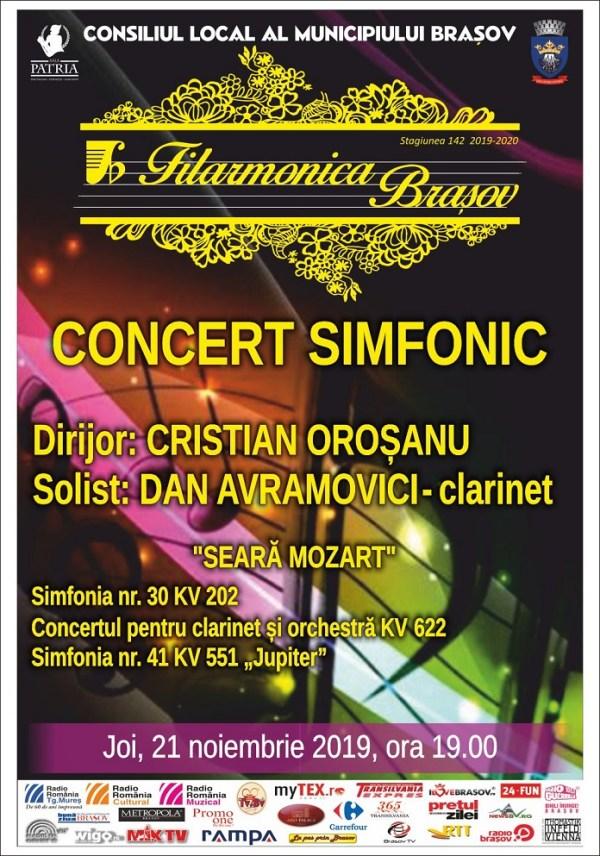 Filarmonica - Concert 21 noiembrie 2019