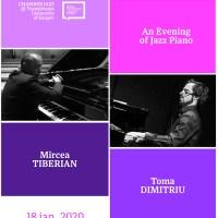 Chamber Jazz@Universitatea Transilvania revine cu un dublu concert de pian