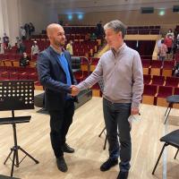 Ioan Dragoș Dimitriu, noul director al Filarmonicii