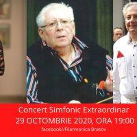 Muzica nu se oprește! Filarmonica Brașov vă invită să rămâneți alături de artiștii Orchestrei Simfonice,  în ONLINE!