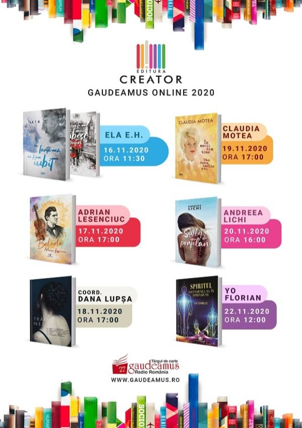 Evenimente Editura Creator la Gaudeamus