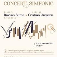 Filarmonica Brașov invită melomanii la concert online