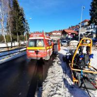 Serviciul Public Local Salvamont Brasov, 16 intervenții pe pârtiile din Poiana Brașov și Masivul Postăvaru