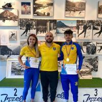Mihaela Hogaș și Cosmin Nedelea sunt campionii României la patinaj viteză sprint