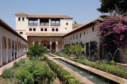 Jardin de l'alhambra