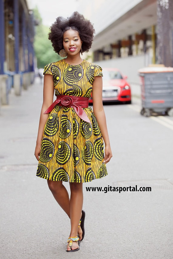 94616cc34c4fb 50+ best African print dresses | Looking for the best & latest African  print dresses