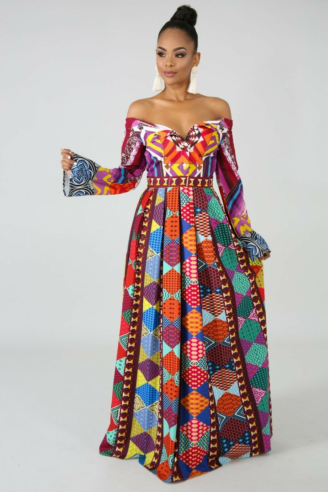 8dbd036c0a22d Who would have thought that African print clothes would look this good?  Check out this