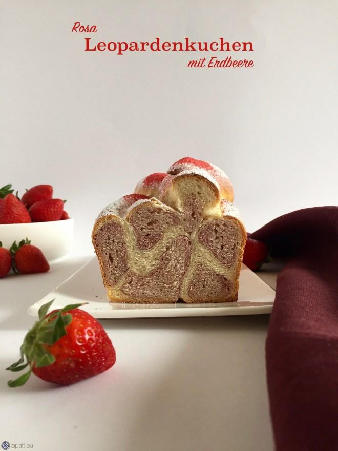 Sieht nicht nur toll aus, sondern schmeckt auch unglaublich gut. Der rosarote Leopardenkuchen ist super saftig und ein echter Hingucker.