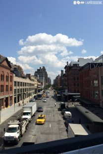 Ein Blick durch die Straßen von NYC.