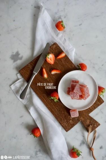 Einfach und lecker: Pâte de fruit aus süßen Walderdbeeren. Und auch noch vegan.