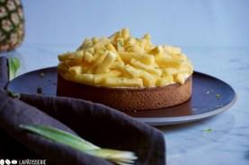 Nicht nur wunderschön, sondern auch richtig lecker: Tarte Ananas