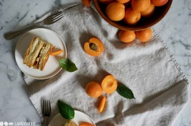 Millefeuille Apricot & Vanille