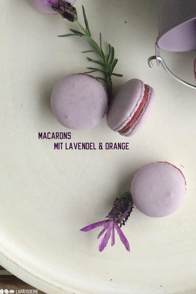 Macarons Lavendel