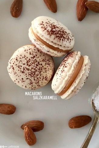 Karamell Macarons
