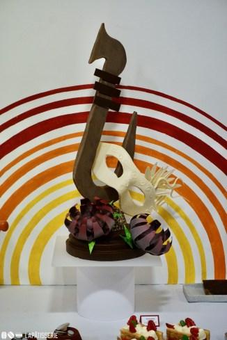 "Schaustück ""Venezia"", komplett aus Schokolade"