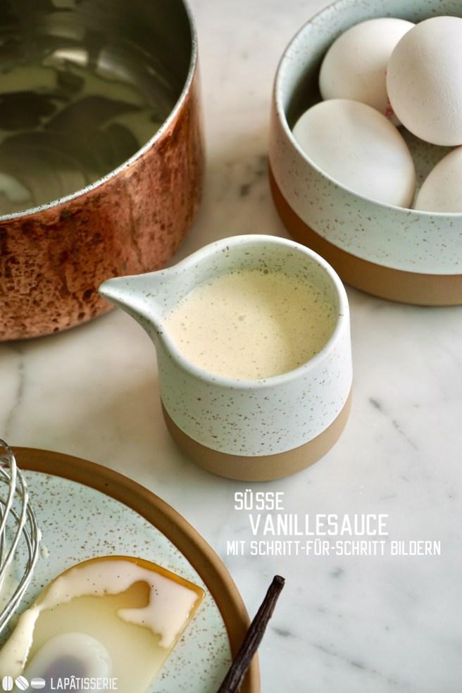 Der süße Saucenklassiker findet Verwendung bei vielen Desserts. Dieses Rezept kommt ohne Stärke aus und wird mit Schritt-für-Schritt Bildern beschrieben.