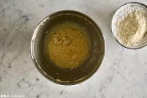 Schritt 2: Mehlmischung unterkneten