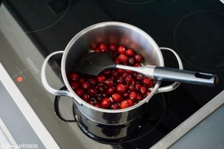 Schritt 1: Cranberries erhitzen