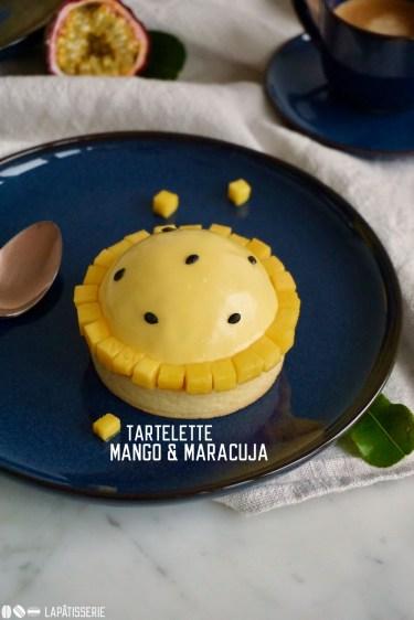 Feine Tartelettes mit luftiger Mangomousse, Mangokompott und Maracuja | Perfekt für den Kaffeeklatsch am Wochenende