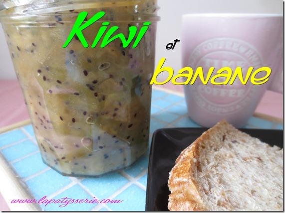 confiture kiwi-banane