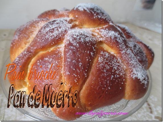 pain brioché de muerto