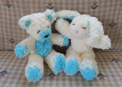 vanilla & ice blue baby bear & bunny smaller file