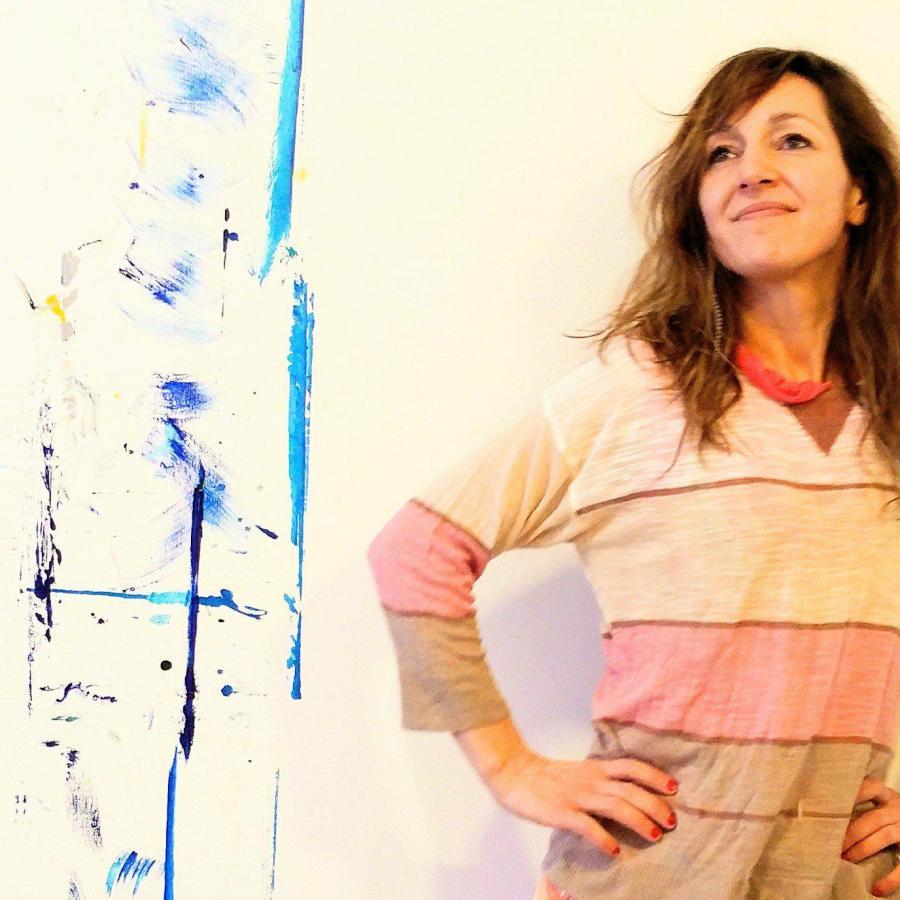 Artiste peintre Québecoise abstrait