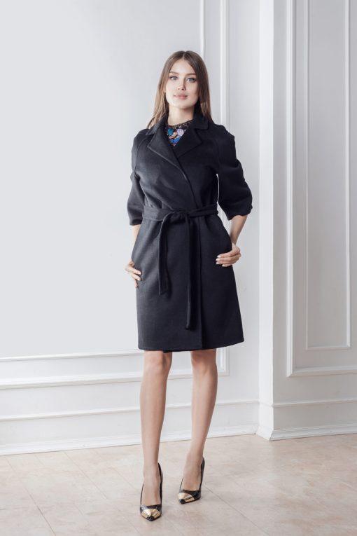Пальто Вена из двусторонней ткани без подкладки