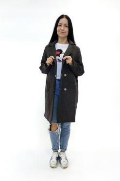 Женское шерстяное пальто Линда