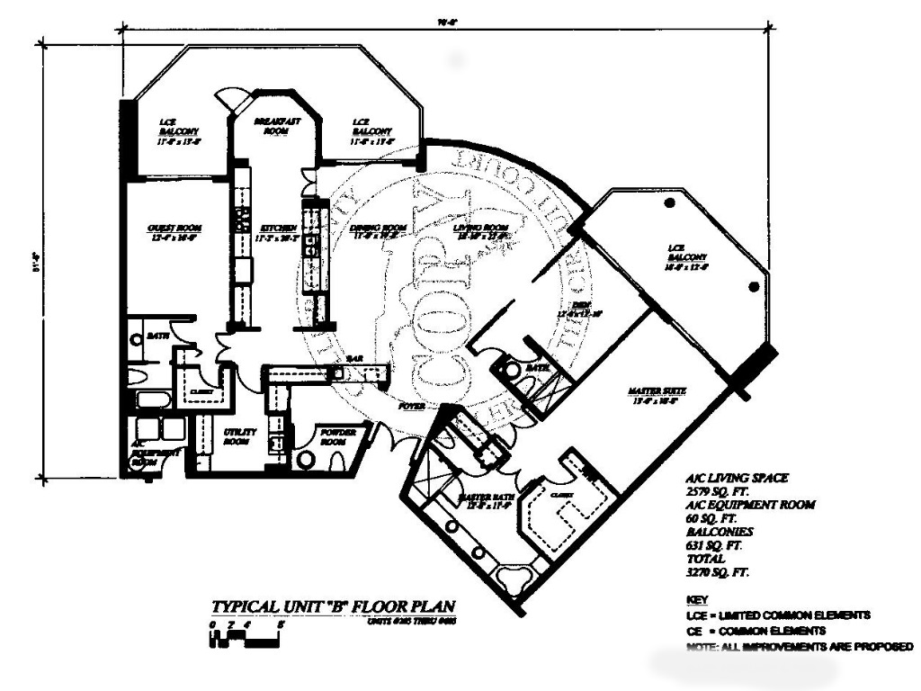 Floor Plans La Peninsula On The Isles Of Capri