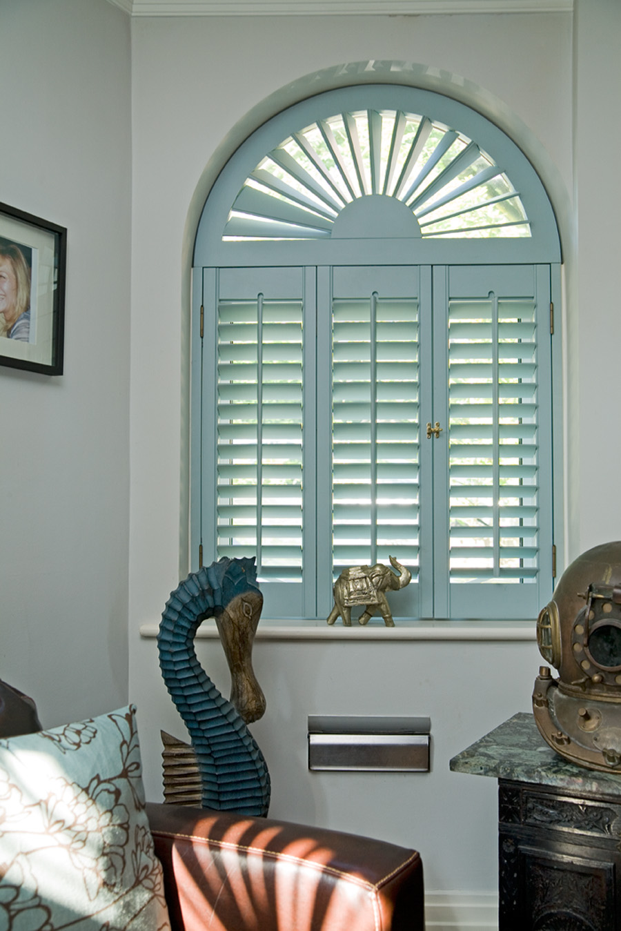 Interior Window Shutters Color Royals Courage
