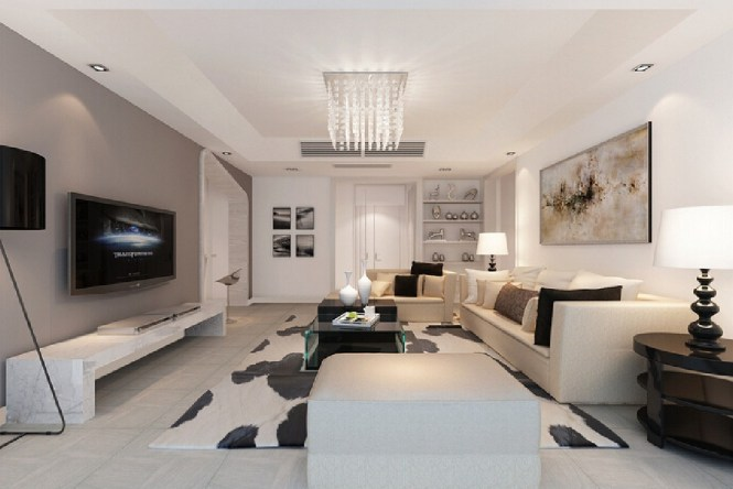 Design Of Minimalist Living Room