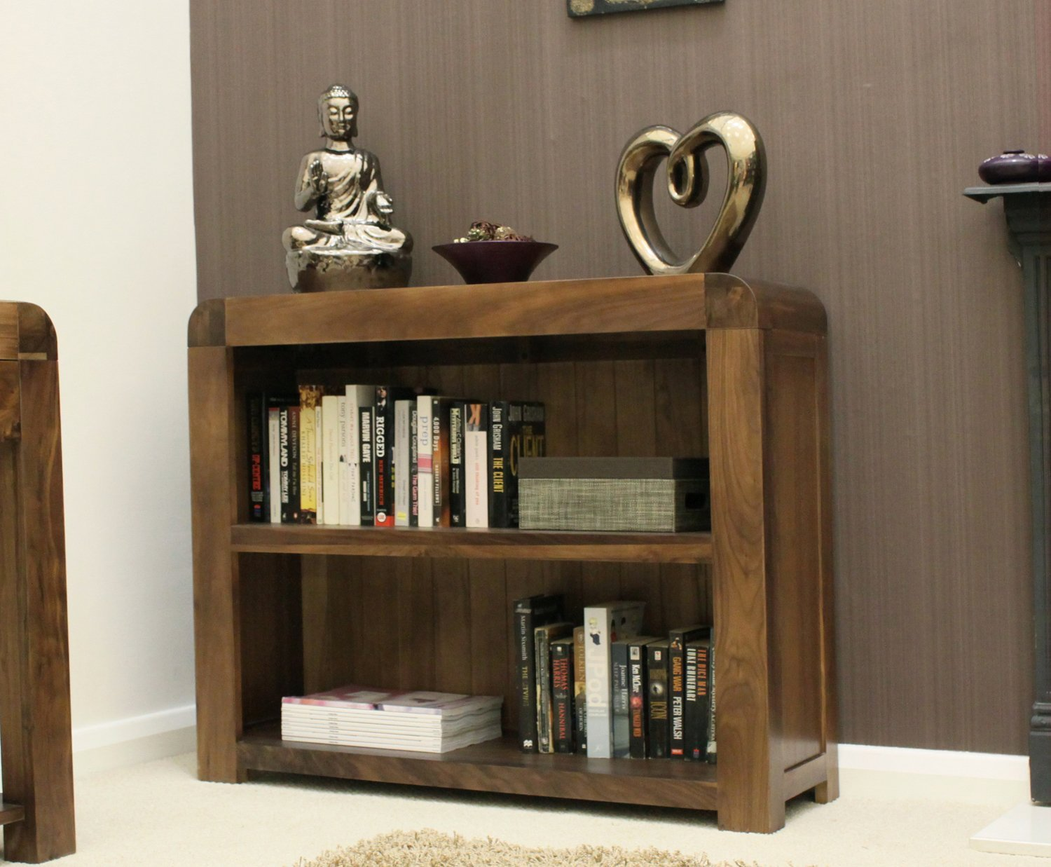 Low Bookcase Helps To Be Completely Built In Royals Courage
