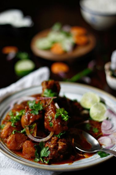 chicken vindaloo 8p